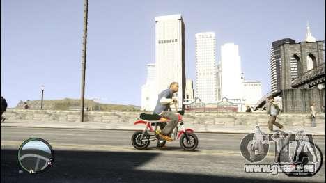 Suzuki PV für GTA 4 linke Ansicht