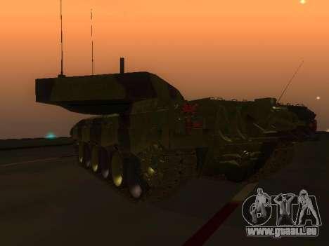 Challenger 2 für GTA San Andreas rechten Ansicht