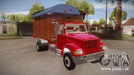 International 4700 pour GTA San Andreas vue arrière