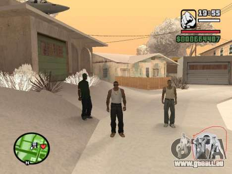Umschalten zwischen Zeichen wie in GTA V für GTA San Andreas her Screenshot