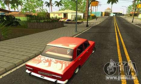 BPAN VAZ 2101 pour GTA San Andreas vue de dessous