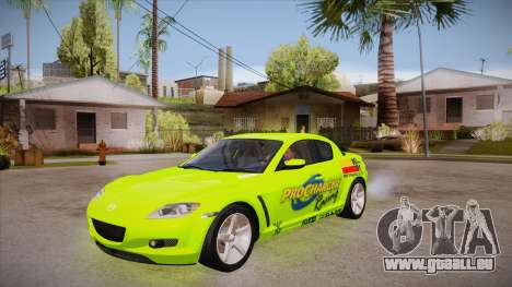 Mazda RX8 Tunnable für GTA San Andreas