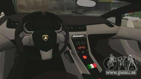 Lamborghini Veneno für GTA 4 Innenansicht