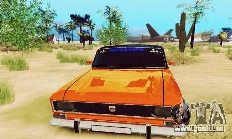 Moskvich 2140 pour GTA San Andreas vue intérieure