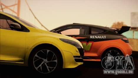 Renault Megane RS Tunable pour GTA San Andreas laissé vue