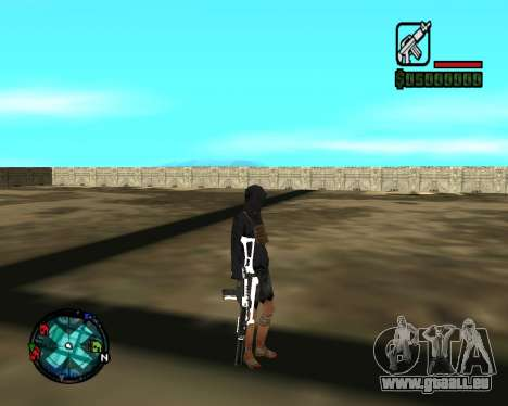 Cleo Gun for SA:MP (dgun) für GTA San Andreas fünften Screenshot