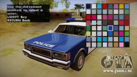 All Cars Radio & Repair Activator für GTA San Andreas dritten Screenshot