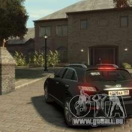 Infiniti FX45 2008 für GTA 4 rechte Ansicht