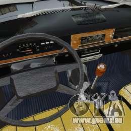 GAZ 2402-4 x 4 Pickup-truck für GTA 4 Innenansicht