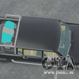 GAZ 2402-4 x 4 pick-up pour GTA 4 est un droit