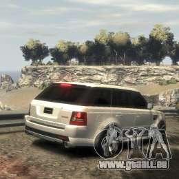 Range Rover Sport 2013 pour GTA 4 est une gauche