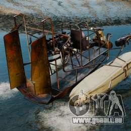 Hydroglisseur pour GTA 4 Vue arrière de la gauche