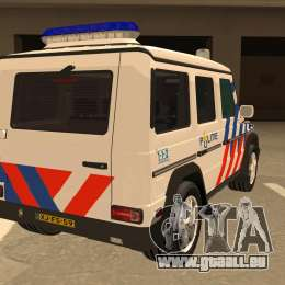 European emergency mercedes benz g 2008 pour gta san andreas for Mercedes benz emergency