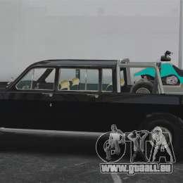 GAZ 2402-4 x 4 pick-up pour GTA 4 est une gauche