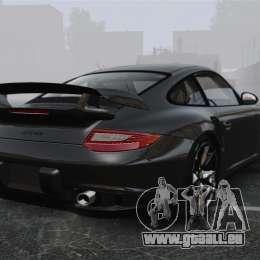 Porsche 997 GT2 2012 Simple version für GTA 4 hinten links Ansicht