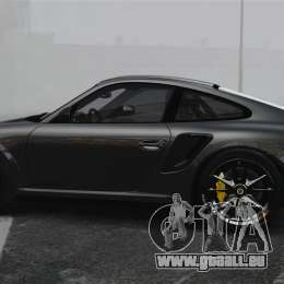 Porsche 997 GT2 2012 Simple version für GTA 4 linke Ansicht