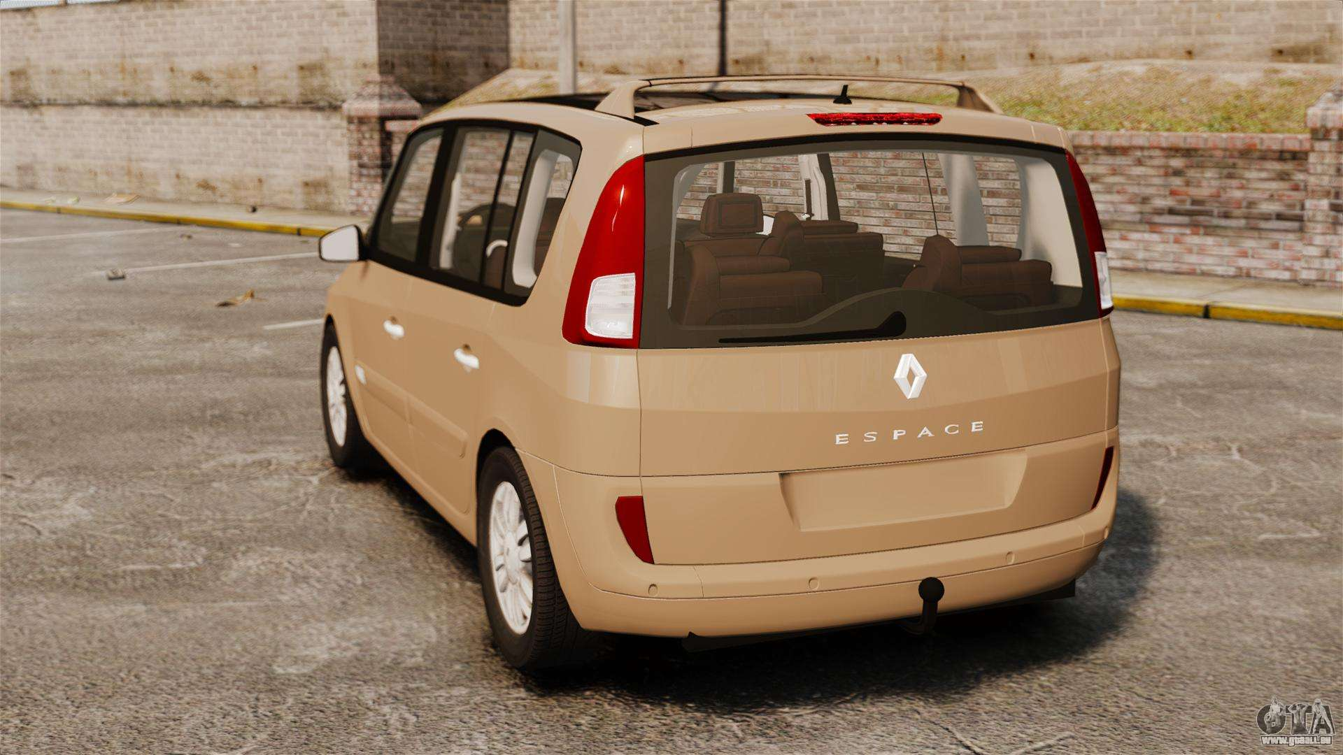 renault espace iv initiale pour gta 4. Black Bedroom Furniture Sets. Home Design Ideas