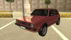 Volkswagen Golf 1 TAS pour GTA San Andreas