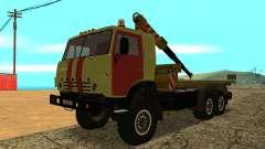 KAMAZ 43114 Abschleppwagen