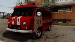 UAZ 452 Fire Staff Penza Russia