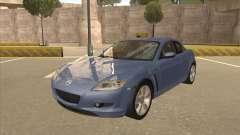 Mazda RX8 Tunable für GTA San Andreas