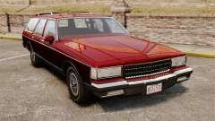 Chevrolet Caprice Wagon 1989 pour GTA 4