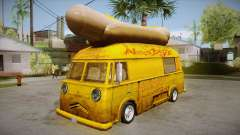 Hot Dog Van Custom