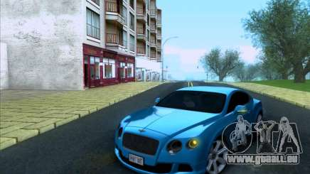 Bentley Continental GT Finale 2011 pour GTA San Andreas