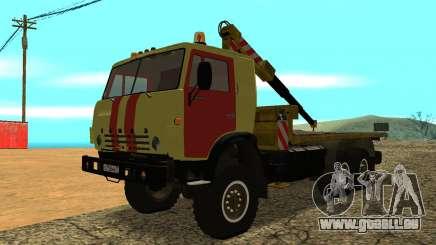 KAMAZ 43114 Abschleppwagen für GTA San Andreas