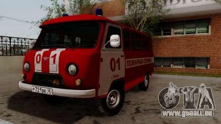 UAZ 452 Fire Staff Penza Russia pour GTA San Andreas