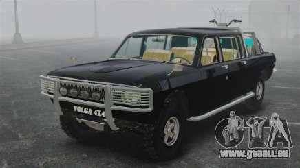 GAZ 2402-4 x 4 pick-up pour GTA 4