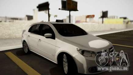 Volkswagen Voyage Taxi pour GTA San Andreas