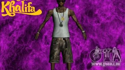 Wiz Khalifa pour GTA San Andreas