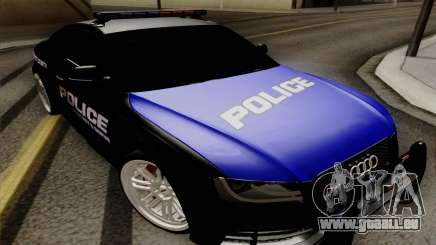 Audi RS5 2011 Police pour GTA San Andreas