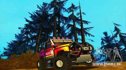 UAZ Hunter-Testversion für GTA San Andreas