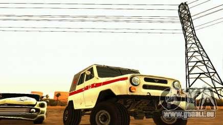 UAZ 469 Ambulance pour GTA San Andreas