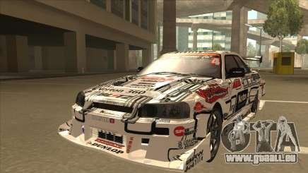 Nissan Skyline ER34 Uras GT Blitz 2009 pour GTA San Andreas