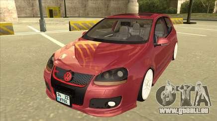 Volkswagen Golf V berline 3 portes pour GTA San Andreas