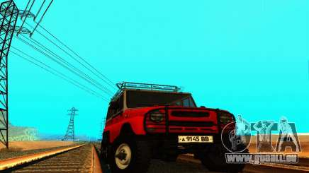 UAZ 31514 6 x 6 für GTA San Andreas