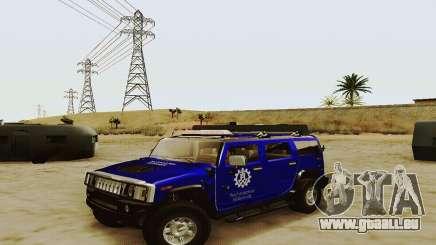 THW Hummer H2 für GTA San Andreas