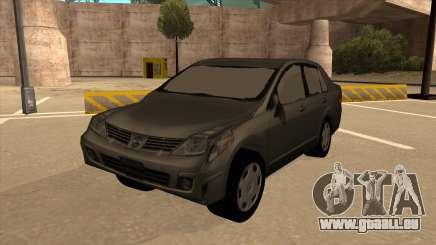Nissan Tiida sedan pour GTA San Andreas