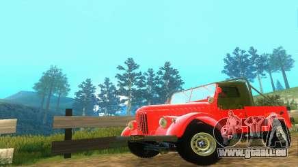 GAZ 69 Pickup pour GTA San Andreas