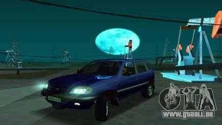 21236 Chevrolet Niva VAZ pour GTA San Andreas
