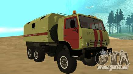 KAMAZ 4310 Warnblinkanlage für GTA San Andreas