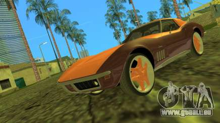 Chevrolet Corvette C3 Tuning pour GTA Vice City