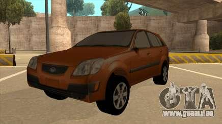 KIA RIO II 5 DOOR pour GTA San Andreas