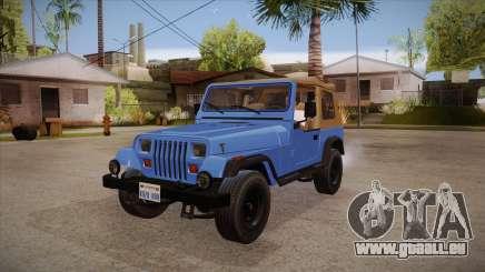 Jeep Wrangler V10 TT Black Revel pour GTA San Andreas