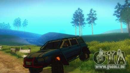 UAZ Patriot pour GTA San Andreas
