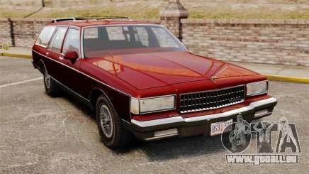 Chevrolet Caprice Wagon 1989 für GTA 4