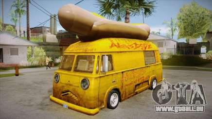 Hot Dog Van Custom pour GTA San Andreas